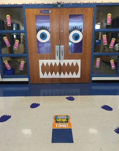 Book Fair 2015 door