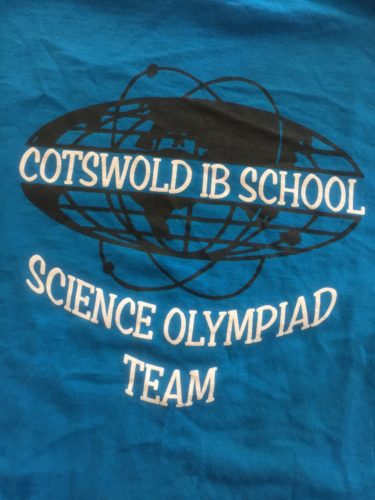 Cotswold IB Science Olympiad Team